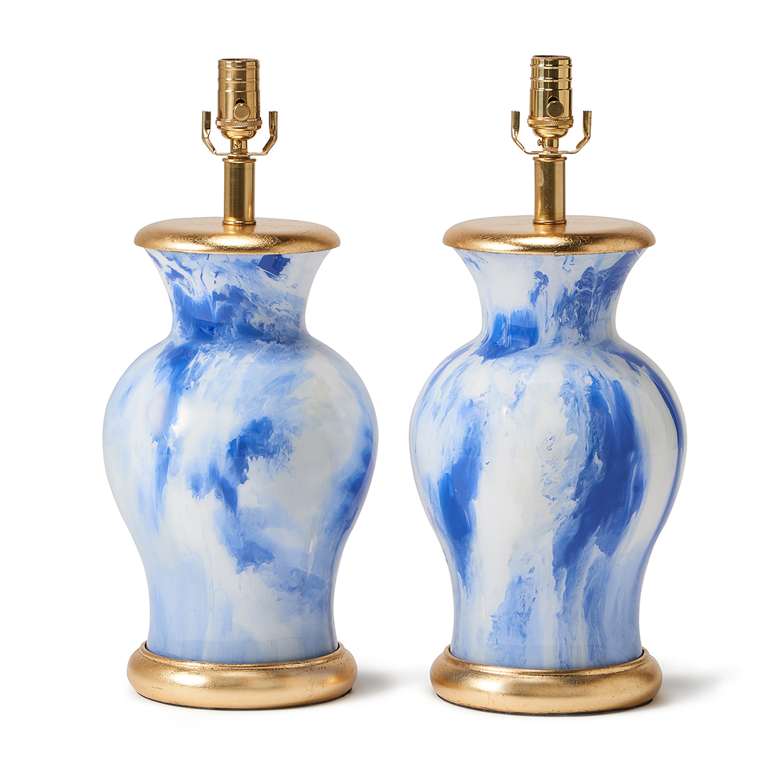 blue-watercolor-gold-base-old-money-lamp-collection-interior-liz-marsh-design