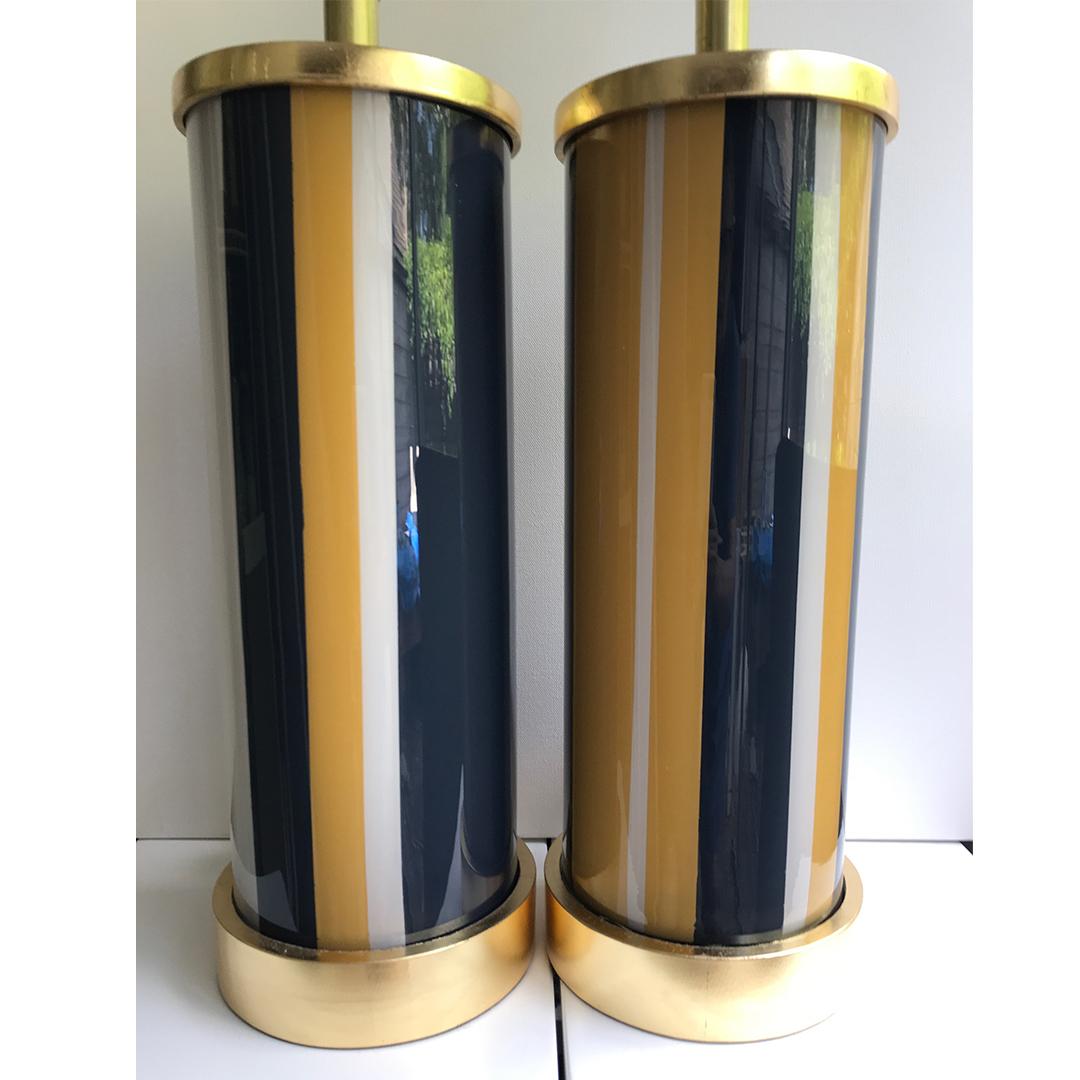 blue-gold-strips-liz-marsh-designs