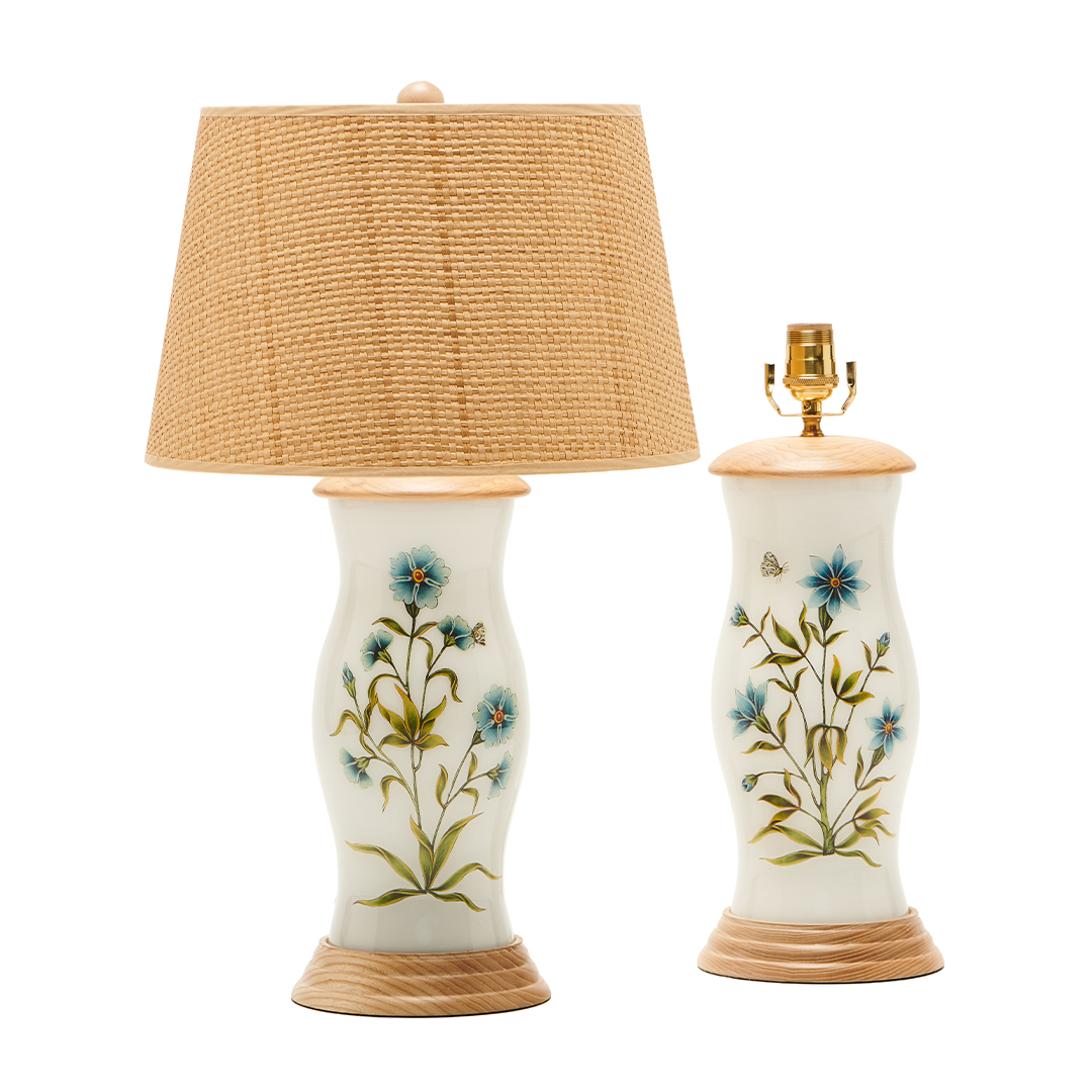 flowers-wood-base-wicker-shade-boheme-lamp-collection-liz-marsh-designs