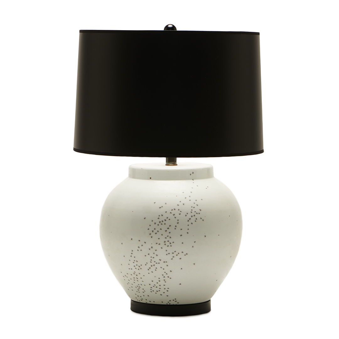 white-base-black-shade-boheme-lamp-collection-liz-marsh-designs
