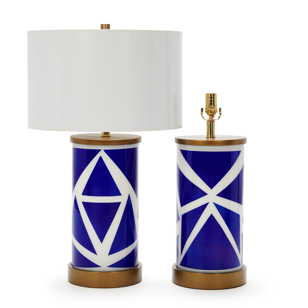 blue-geometric-shapes-wood-base-white-shade-paris-now-liz-marsh-designs