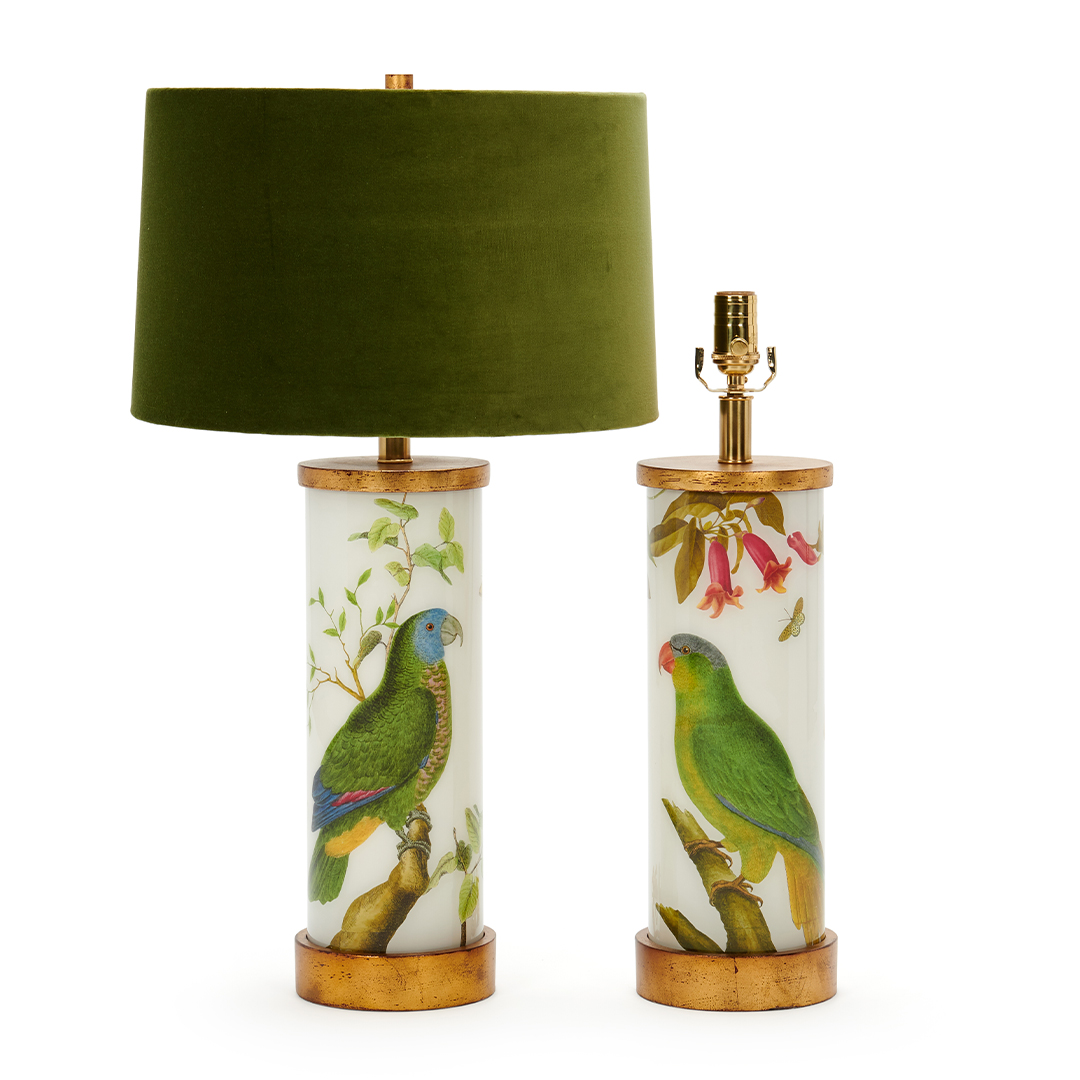 green-shade-parots-eden-lamp-collection-liz-marsh-designs