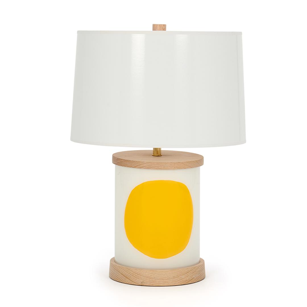 yellow-circle-wood-base-boheme-lamp-collection-liz-marsh-designs